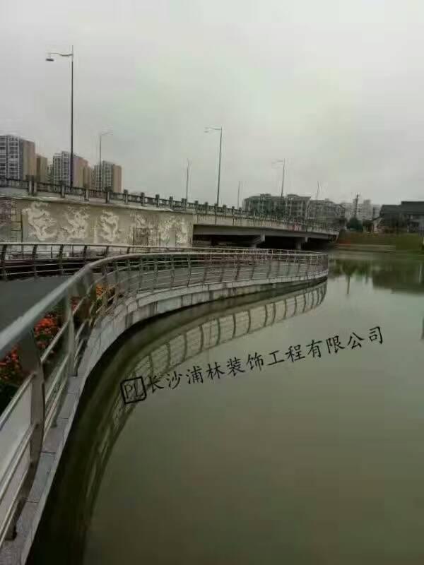 常德穿紫河不锈钢护栏