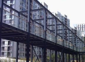 酒店钢结构楼梯