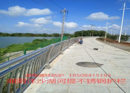 洋沙湖不锈钢栏杆
