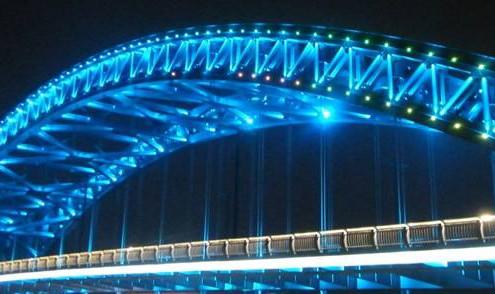 衡阳桥梁亮化,建筑亮化