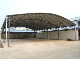 钢结构雨棚,彩钢雨棚,玻璃雨棚