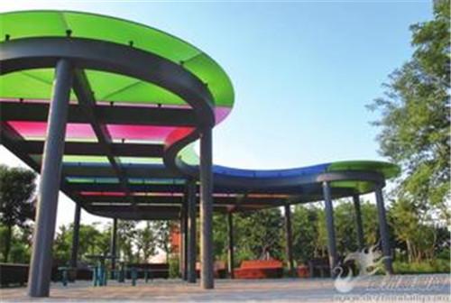 钢结构景观廊架,异形廊架