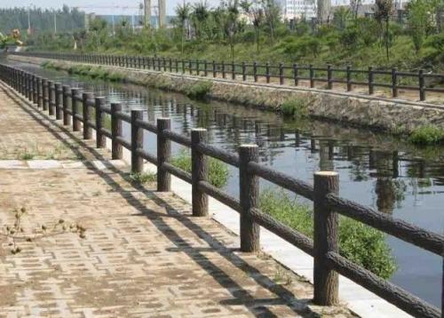 长沙仿木护栏,防树皮栏杆