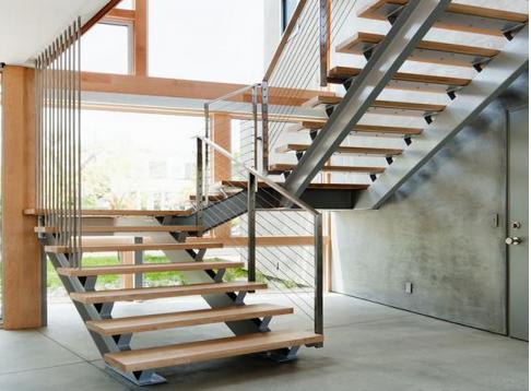 长沙钢结构楼梯扶手