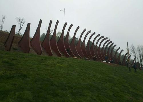 常德绿化景观钢结构