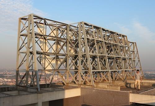 长沙钢结构广告牌