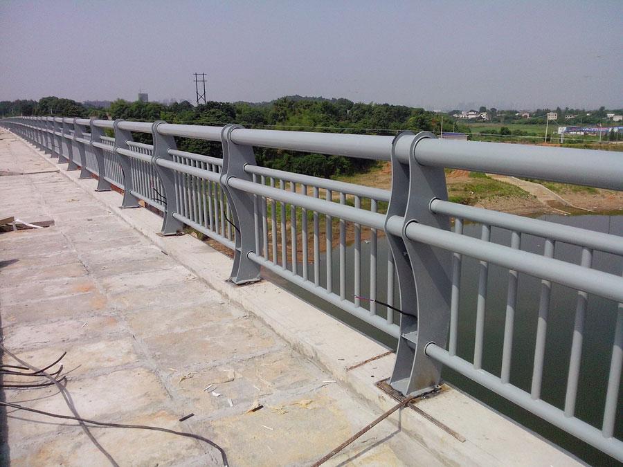 岳阳钢结构栏杆,护栏,防撞栏杆